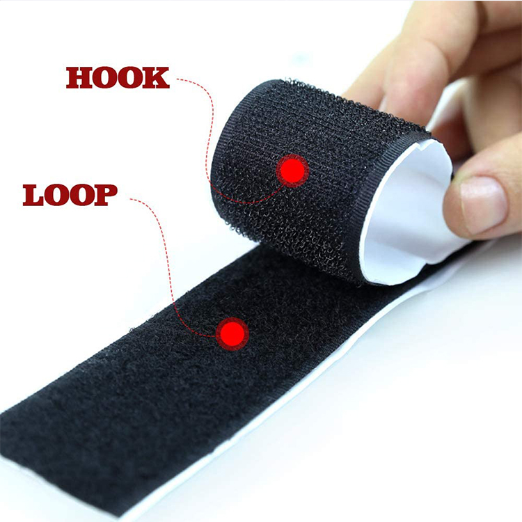 Adhesive Hook And Loop